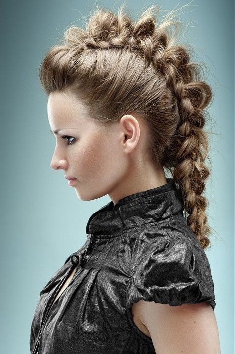Festival Hair - long brown straight hair styles (21436)