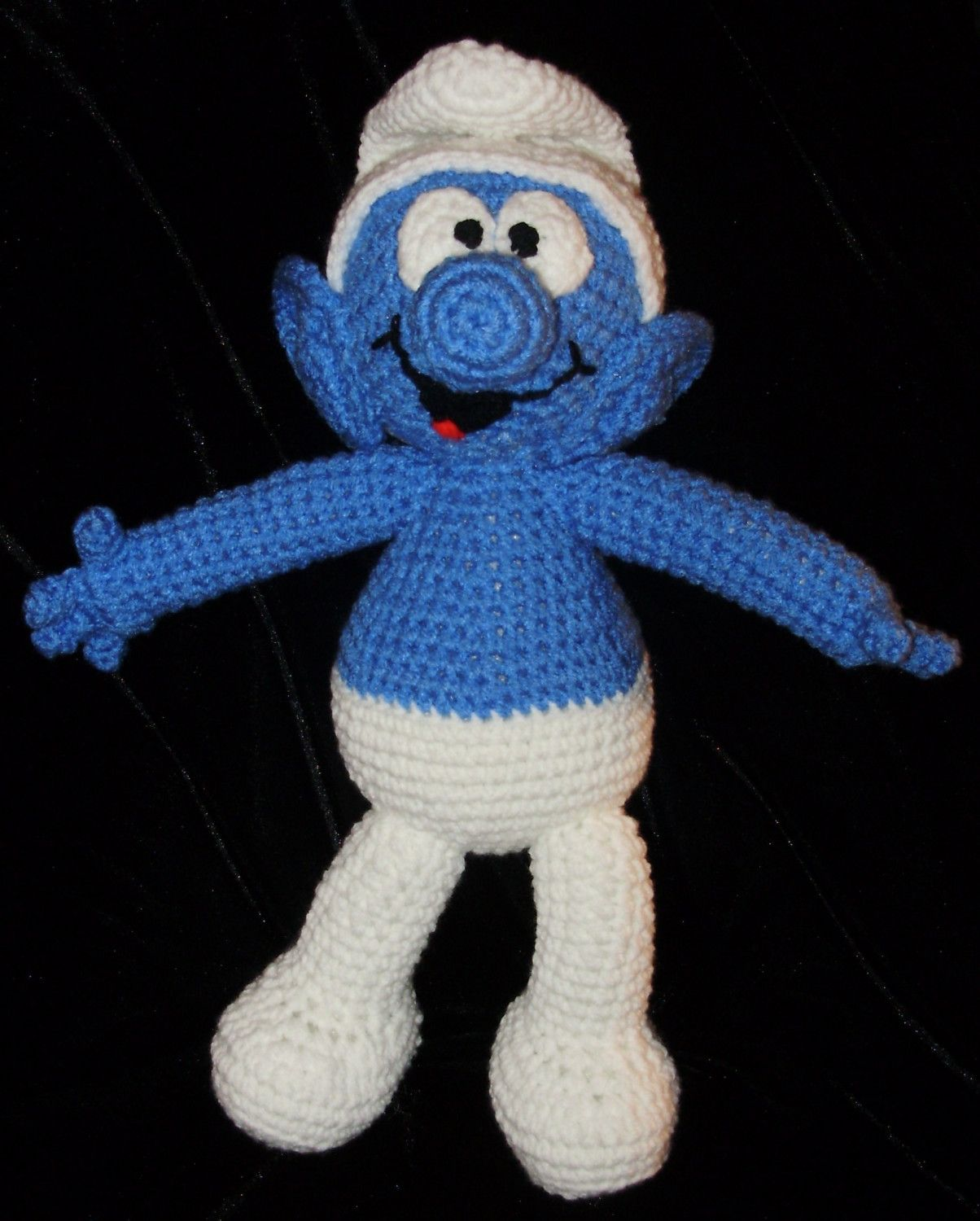 A smurf a crochet pattern by erin scull crochet etsy and a smurf a crochet pattern by erin scull bankloansurffo Image collections