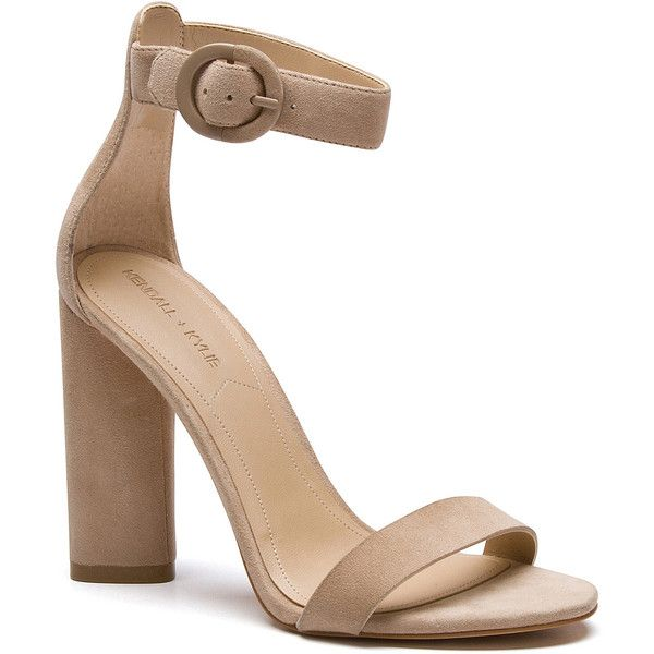 GISELLE SANDAL ❤ liked on Polyvore featuring shoes, sandals, heeled sandals, high heel sandals, high heel shoes, high heeled footwear and synthetic shoes
