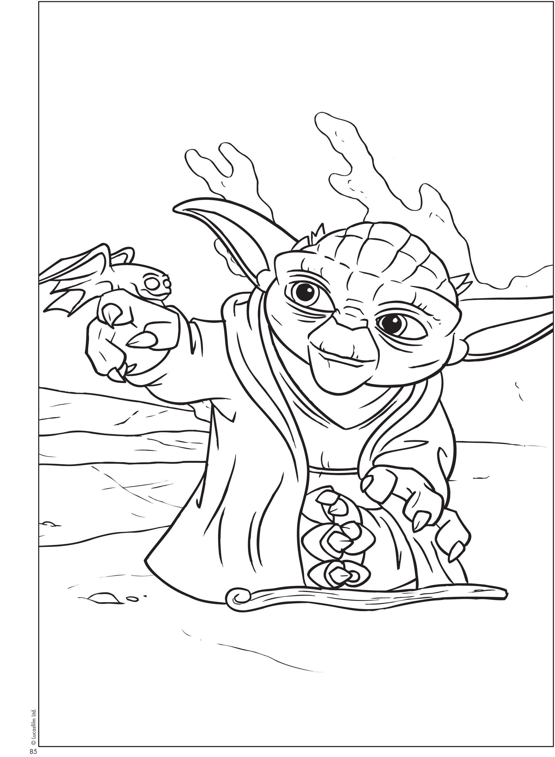 Printable Yoda Coloring Pages V 2020 G Raskraski Risunki Kvilting
