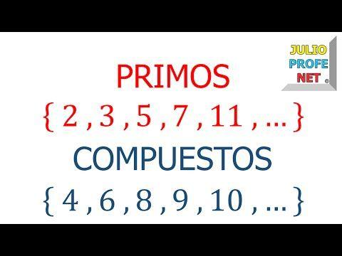 Números Primos Y Compuestos Lecciones De Matemáticas Multiplos Y Divisores Divisibilidad