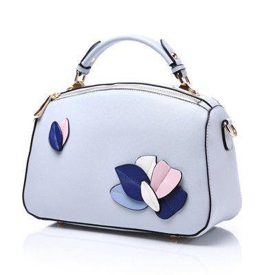 Reiwalker PU Leather Handbags Ladies 2016 Leaves Pattern Women Messenger Bags Famous Brand Designer Tote