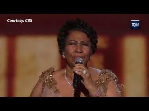 Watch Aretha Franklin Make President Obama Emotional Aretha