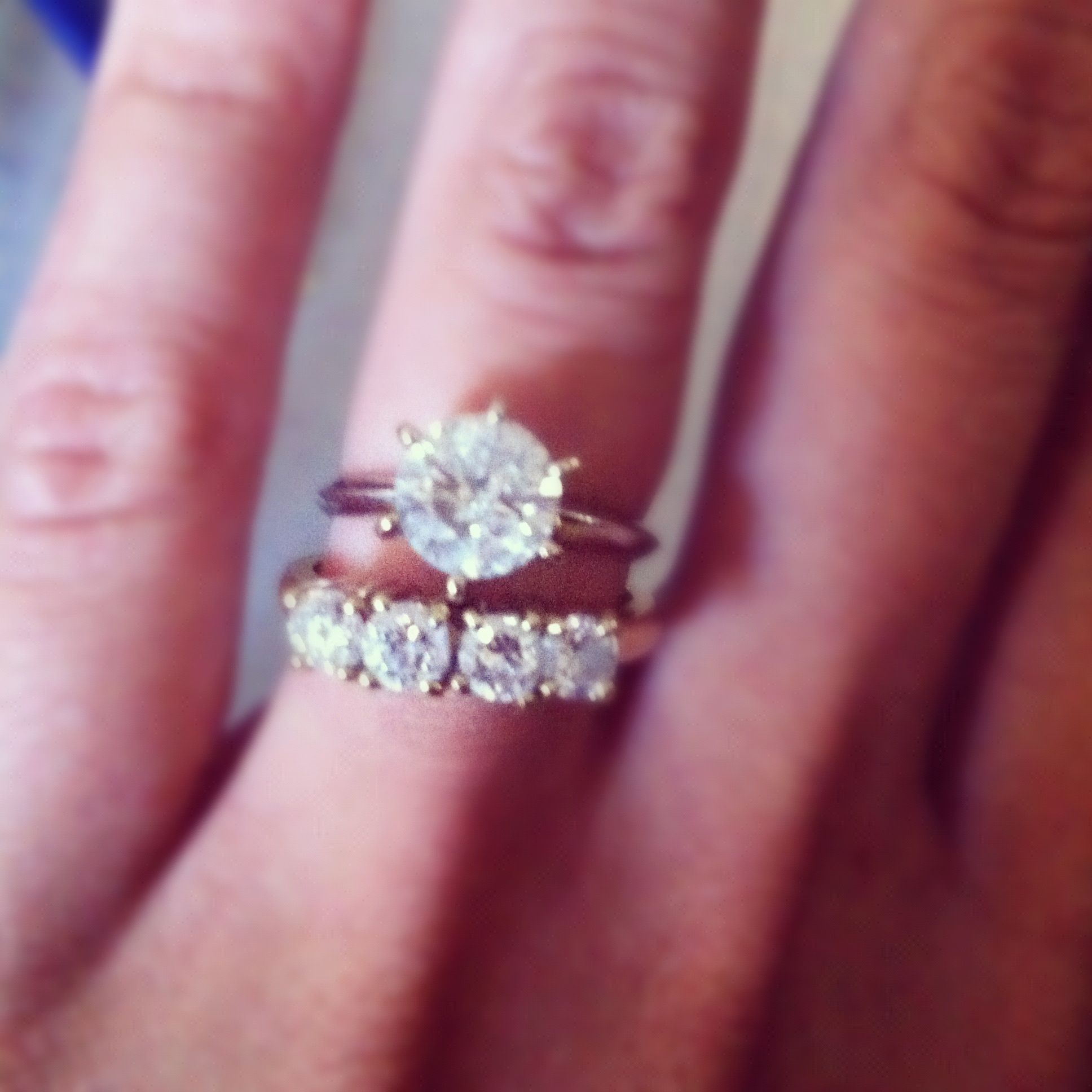 Best Of Floating Diamond solitaire Engagement Ring - Best Jewelry