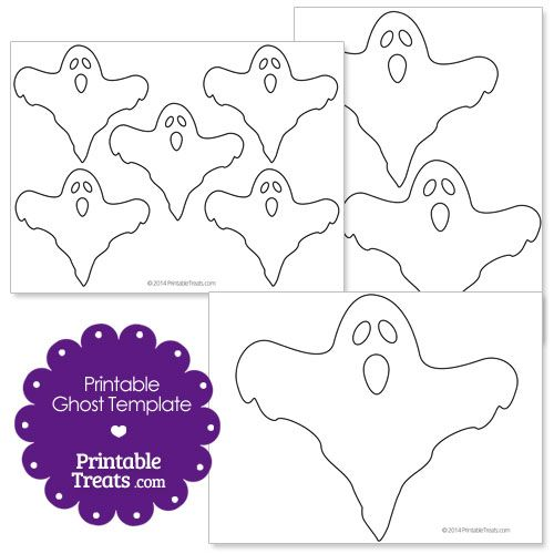 image relating to Ghost Template Printable named Printable Ghost Template versus