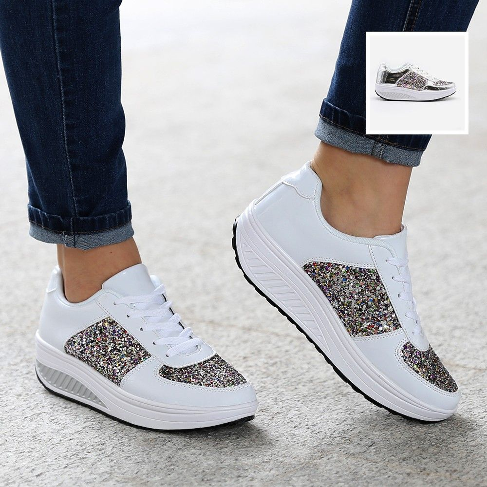 Fitness GlitterDeko Sneaker SneakersWorkout Shoes Und jqMUzVLSpG
