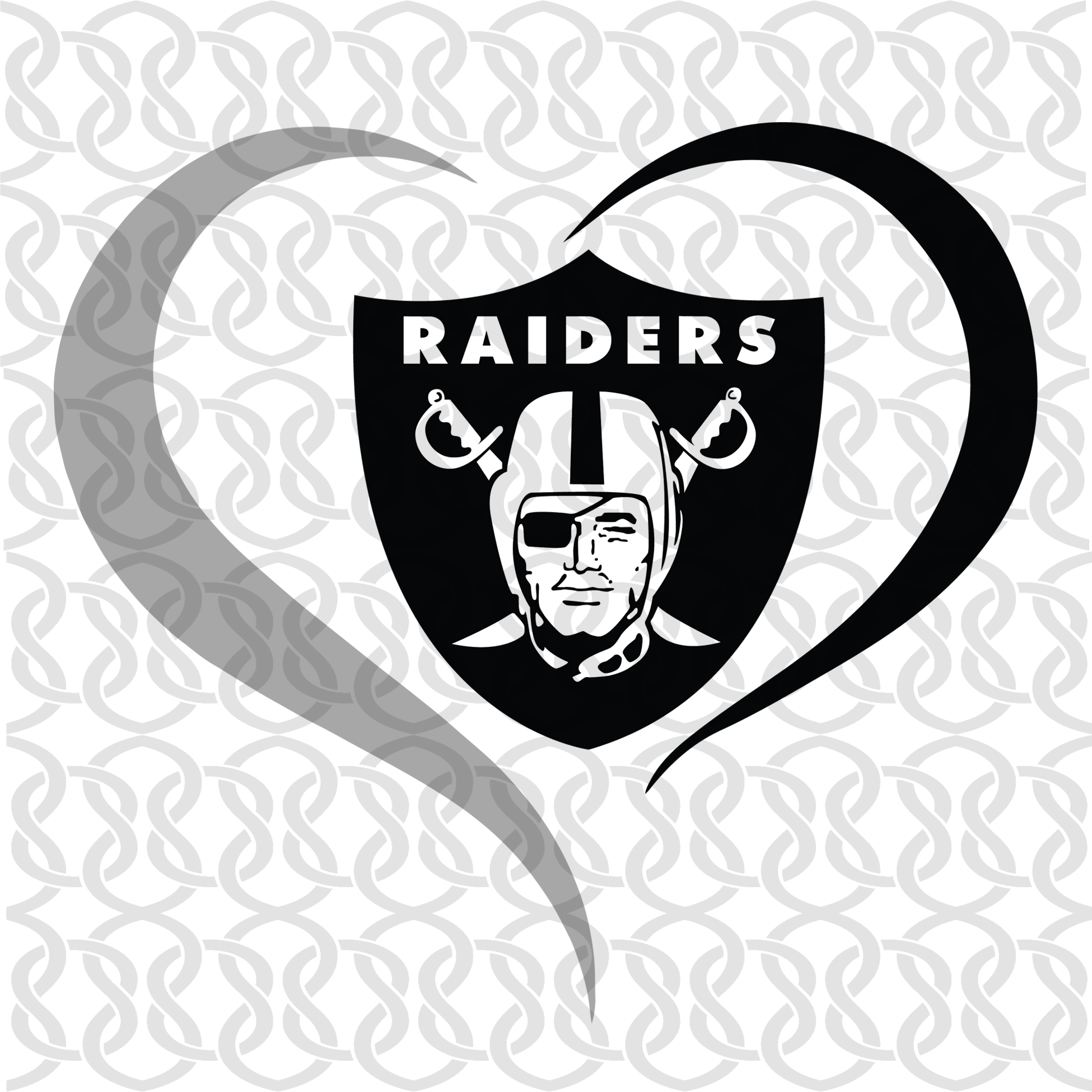 Oakland Raiders,NFL svg,love football, love Oakland