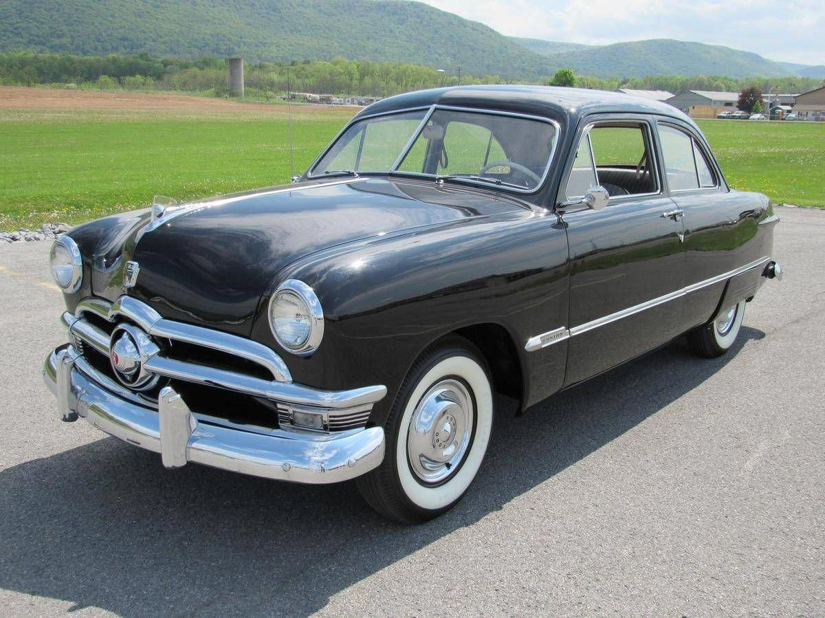 1950 Ford Deluxe 2 Door Sedan Fordclassiccars Ford Trucks Ford Classic Cars Ford Shoebox