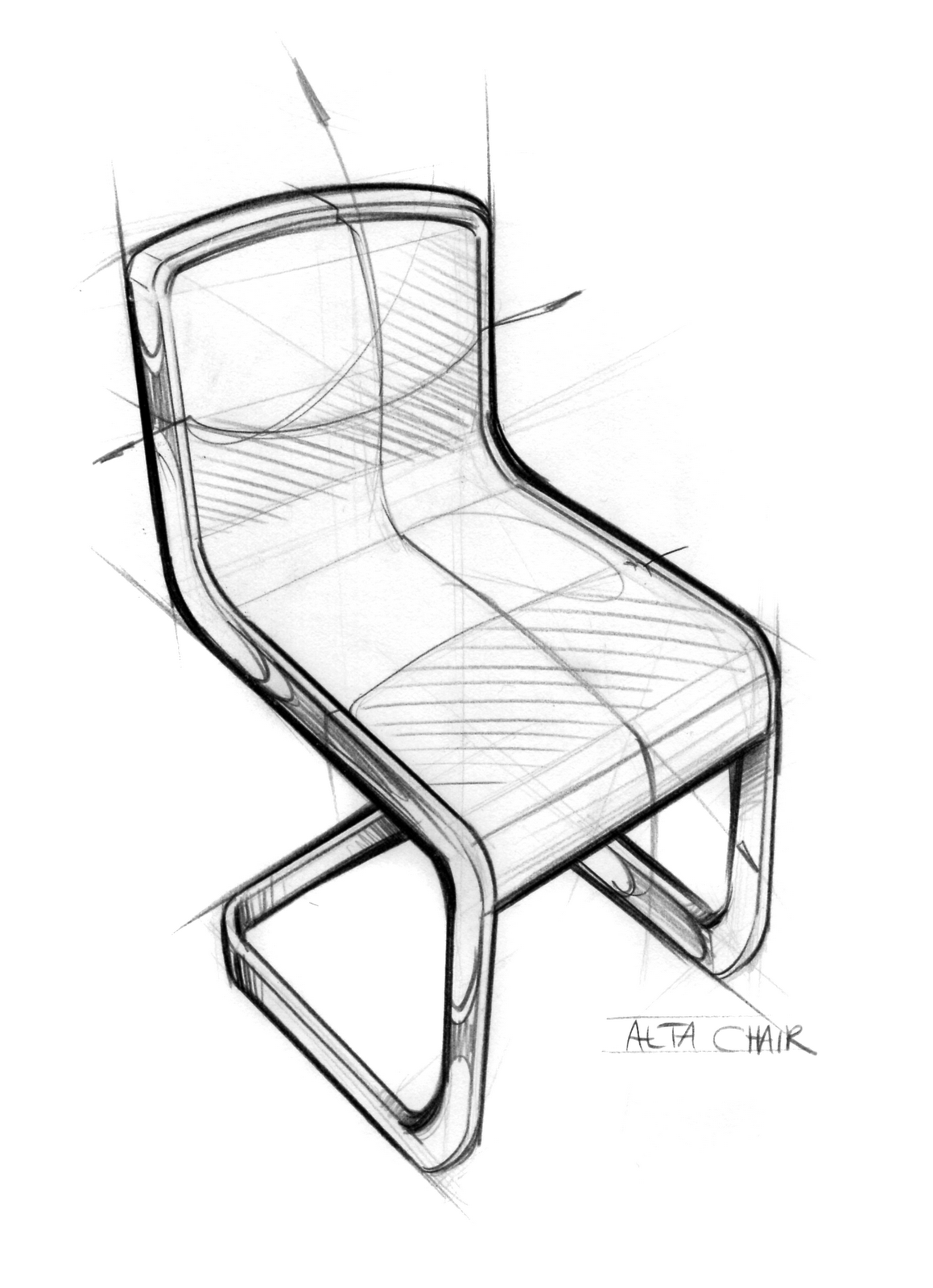Modern furniture sketches chair sketches - Industrial Design Sketch