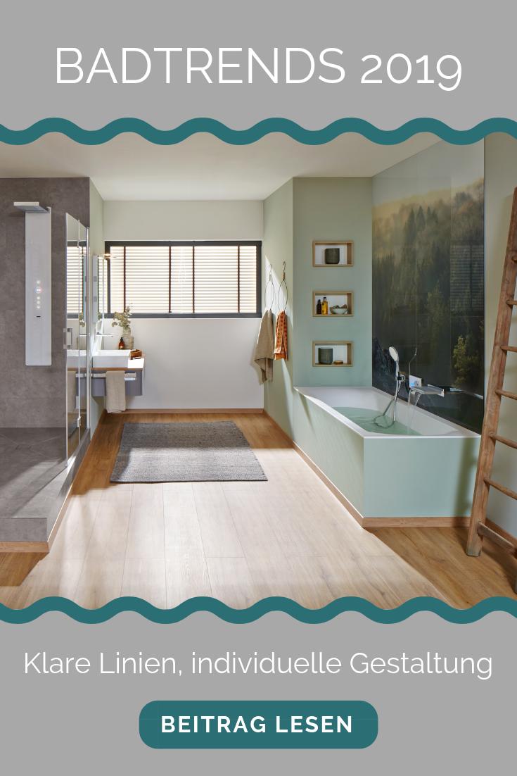 Absolut Bad Blog Badtrends 2019 A Klare Linien Individuelle Gestal Landliche Badezimmer Bad Badrenovierung