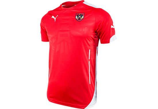 Get the Puma Austria Home Jersey at www.soccerpro.com now!  12d8e4d0fb5e0