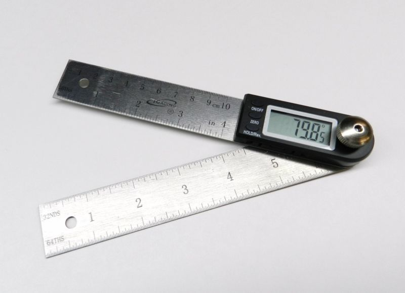 Details About 4 Digital Protractor Rule Igaging Electronic Angle Finder Goniometer 7 Long With Images Protractor Igaging Angle Finders