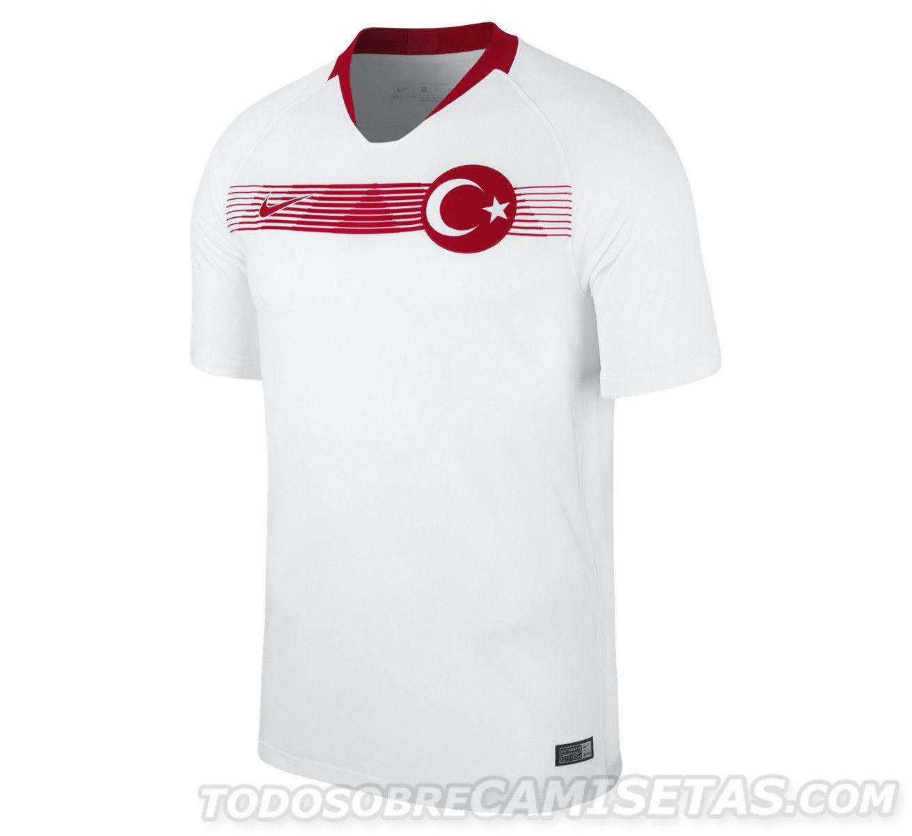 f54e783d56a Turkey 2018 Nike Kits - Todo Sobre Camisetas | Jersey Design IDea ...
