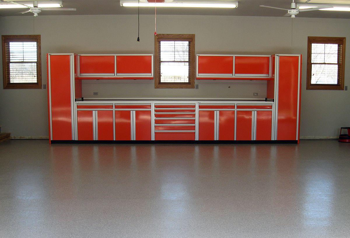 aluminum garage cabinets
