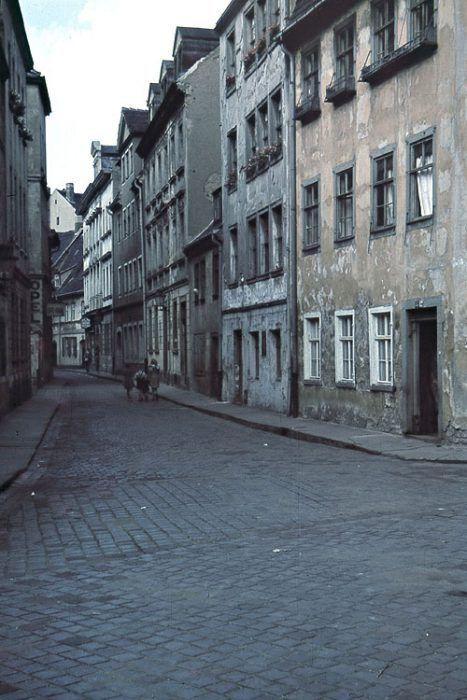Naundörfchen 1940 (Foto: Werner Stein / wortblende); Geheimtipp Leipzig | Das alte Naundörfchen