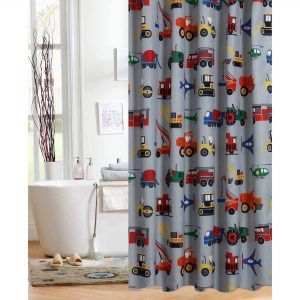 Little Boy Shower Curtains