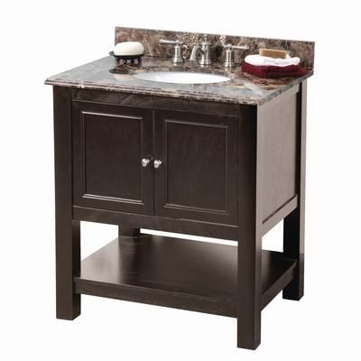 Home Depot :$489.00 Gazette 30 inch Vanity by Foremost ...