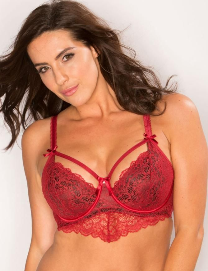 a9a0be8f35 9402 Pour Moi Obsession Underwired Bra - 9402 Ruby Red