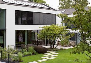 Puristischer Garten puristischer vorgarten eingang vorraum gardens