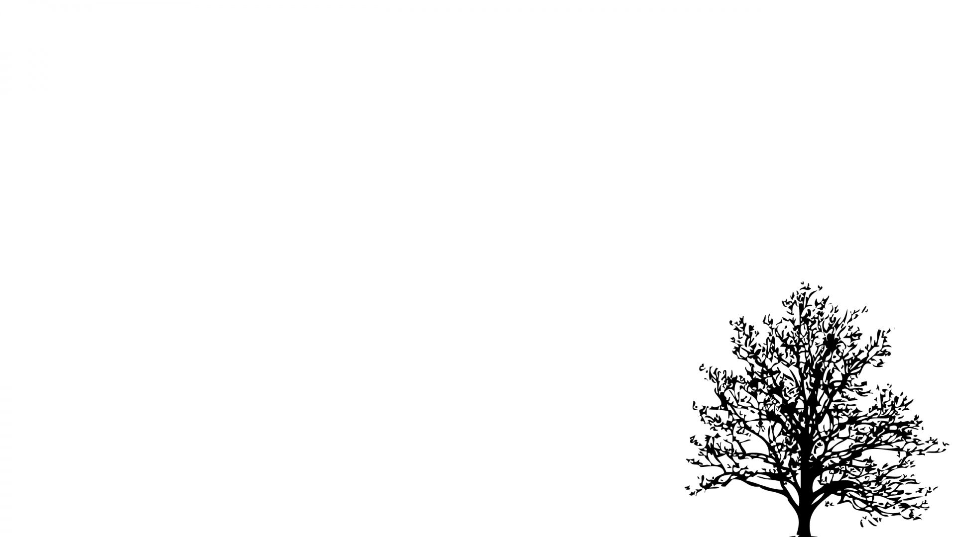 Download Wallpaper 1920x1080 Tree Branches Vector Full Hd 1080p Hd Background White Background Wallpaper Minimalist Wallpaper Minimalist Desktop Wallpaper