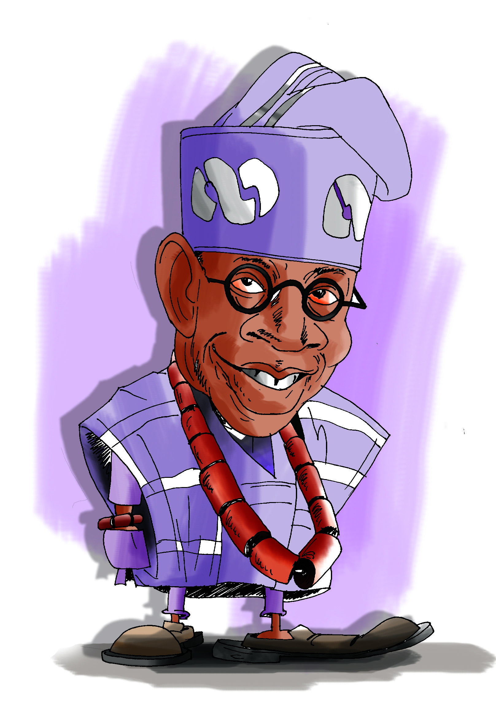 My Caricature Of A Known Politician In Nigeria Caricature Character Skeletor