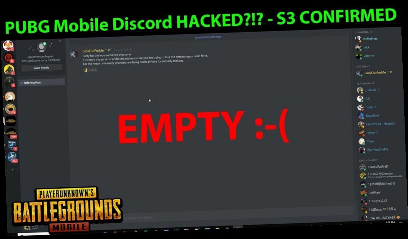 Pubg Mobile Hack Discord Download Hacks Discord Tool Hacks