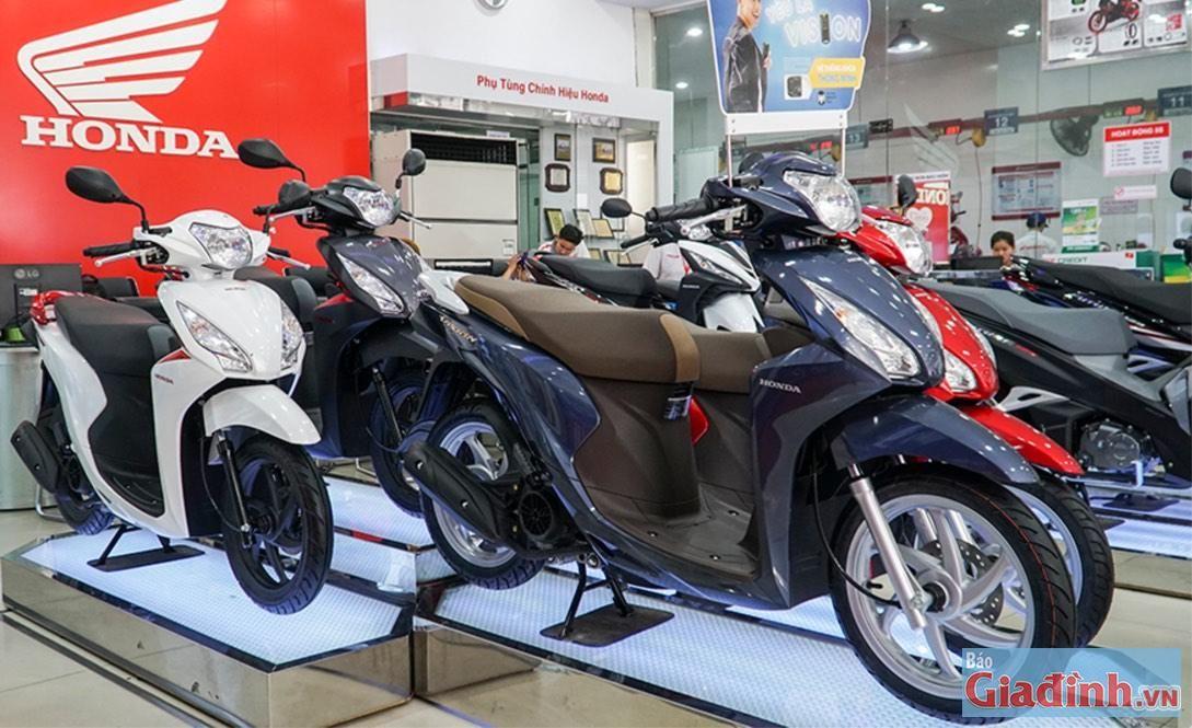 Bảng Gia Xe Honda Vision 2020 Thang 4 2020 Cập Nhật Trực Tiếp Từ Head Trong 2020 Honda Janus Cap