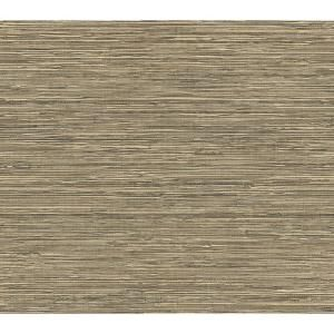 The Wallpaper Company 8 in. x 10 in. Neutral Grass Cloth
