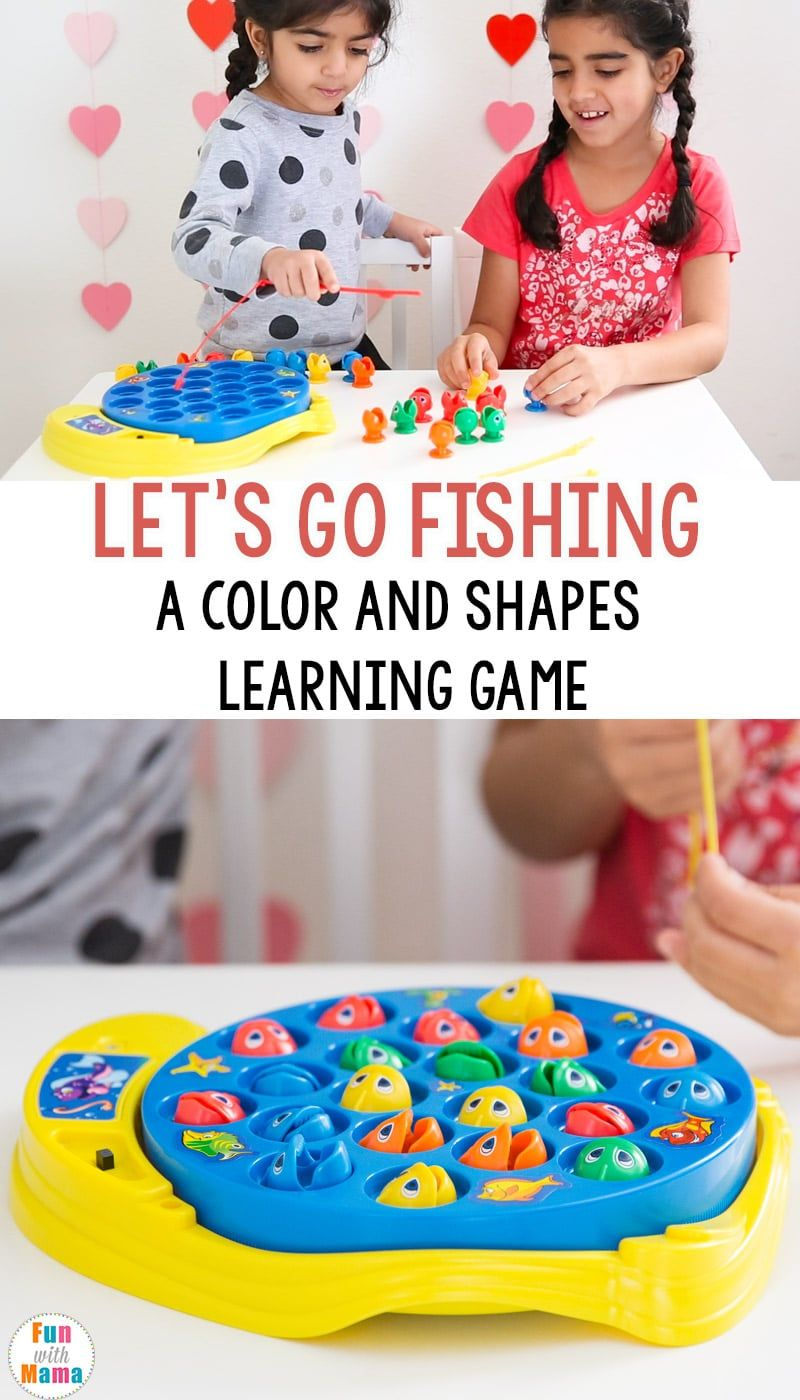 Let's Go Fishing Game Kids Toy Review | Educational toys ...