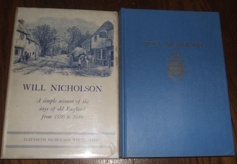 1948 Limited Edition Will Nicholson by Elizabeth Nicholson White Rhode Island