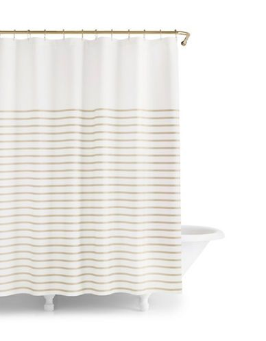 Harbor Stripe Shower Curtain | Lord and Taylor