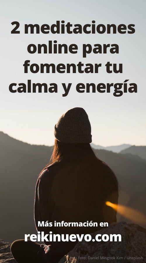 Participa Desde Tu Casa En Las 2 Meditaciones Guiadas Online Para Fomentar Tu Calma Y Equilibrar Tu Energía Más Informac Meditation Mantras Namaste Yoga Reiki