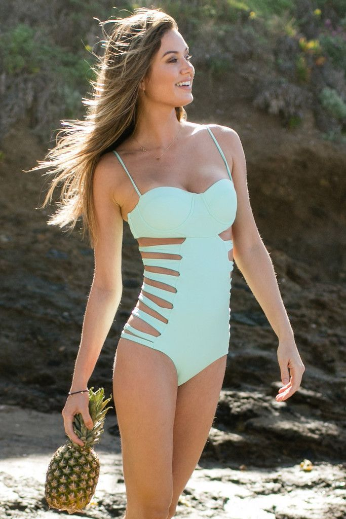 20 Swimsuits Worth The Weird Tan Lines | Swimsuits, Cute