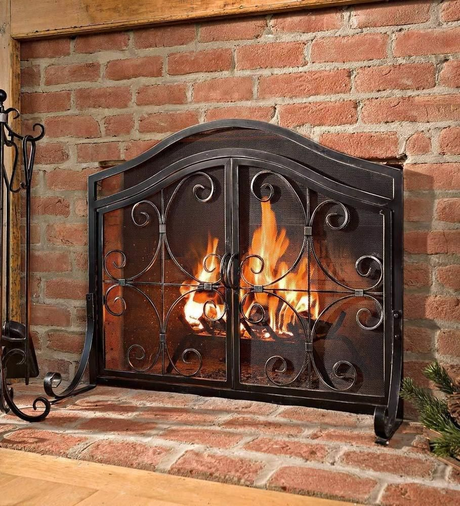 Most Up To Date Photographs Rustic Fireplace Cover Popular In 2020