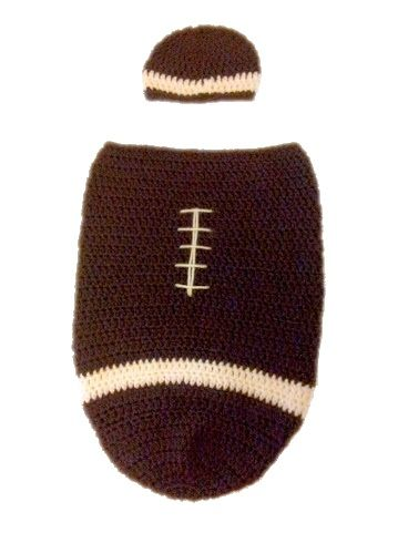 Free Nb Football Cocoon Pattern Free Crochet Patterns Pinterest