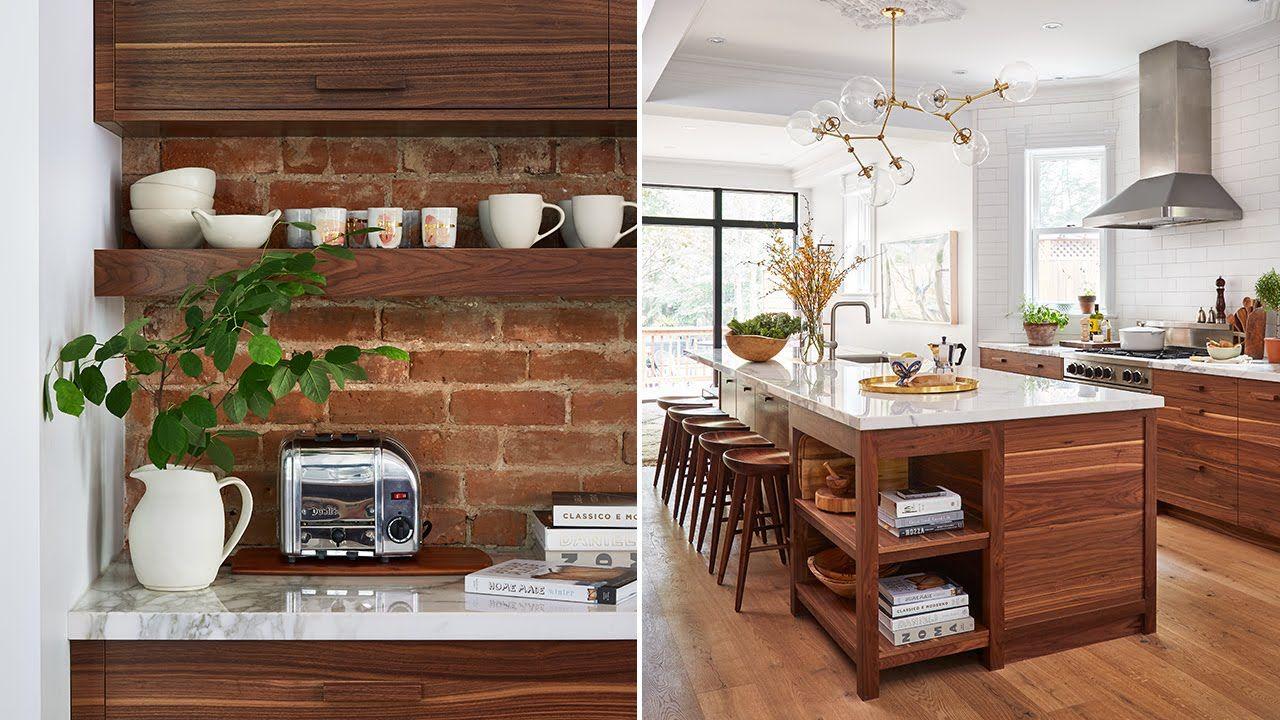 Interior Design – A Modern-Meets-Vintage Kitchen  Home interior