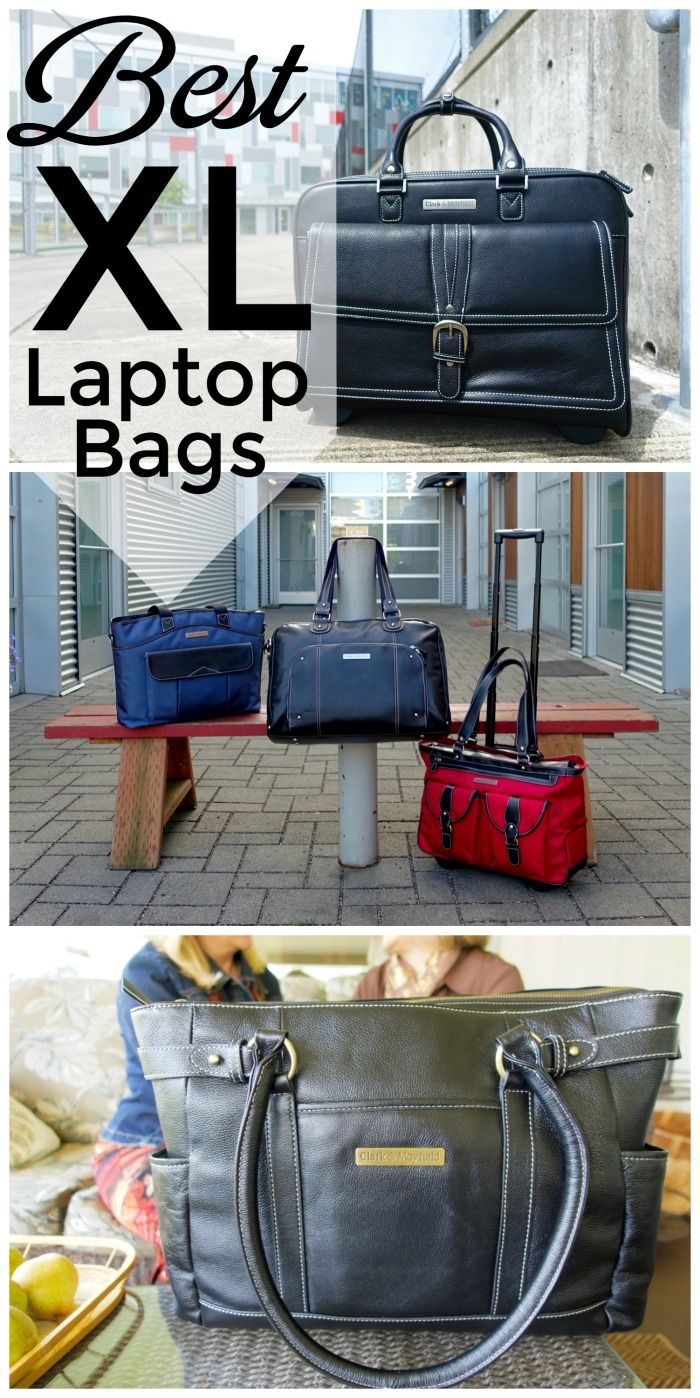 Finding extra large laptop bags that still have style is not easy. These  large leather f299bb19277bd