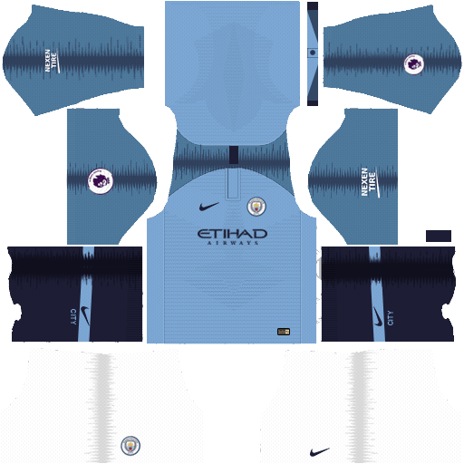 Manchester City 2018 19 Dream League Soccer Kits Url 512x512 Manchester City Soccer Kits Manchester