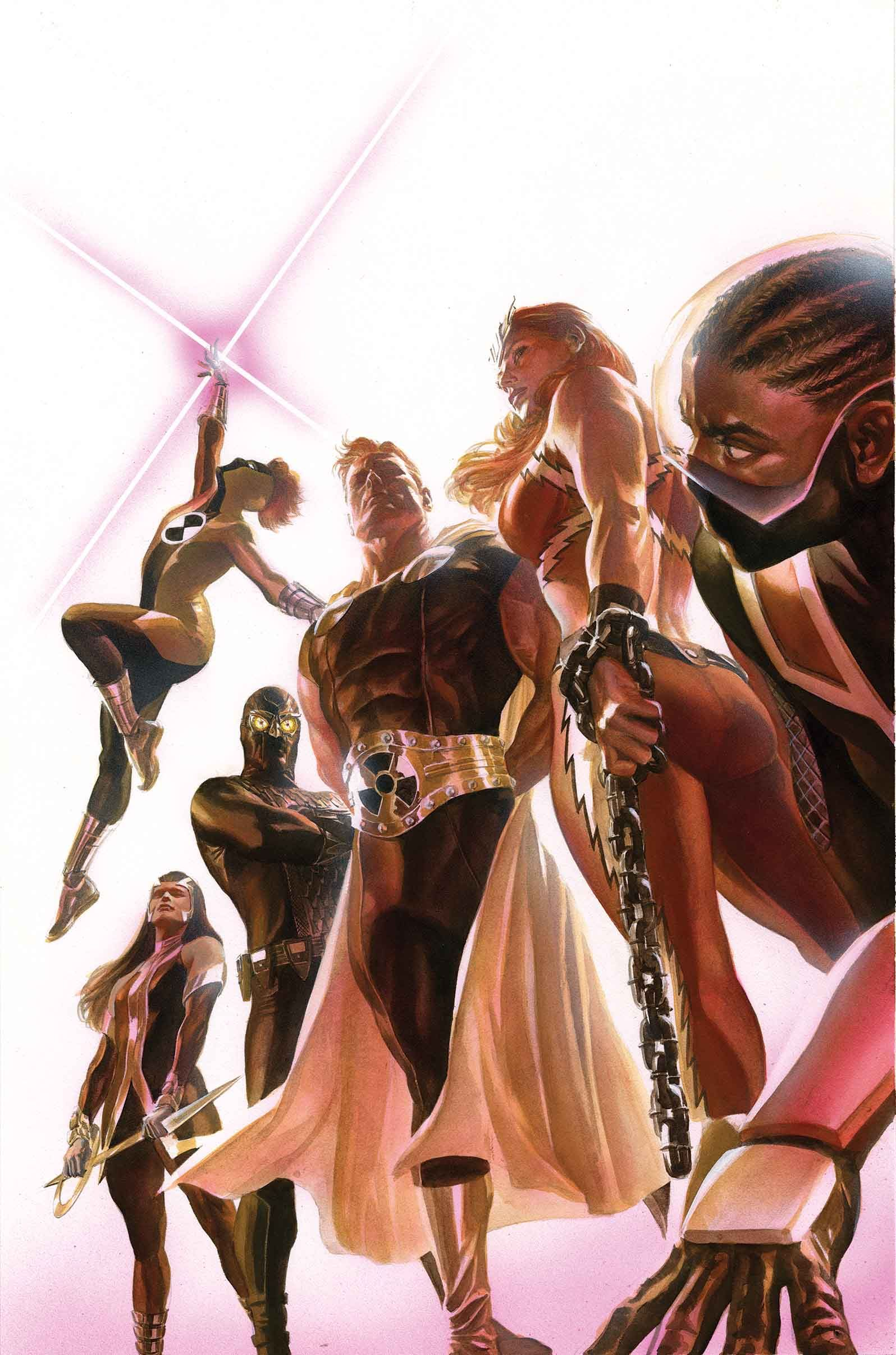 Squadron Supreme Alex Ross Alex Ross Squadron Supreme Marvel Art