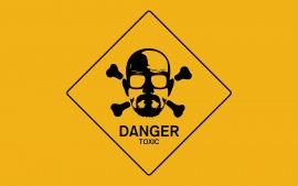 WALLPAPERS HD: Breaking Bad Walt Danger Toxic Sign