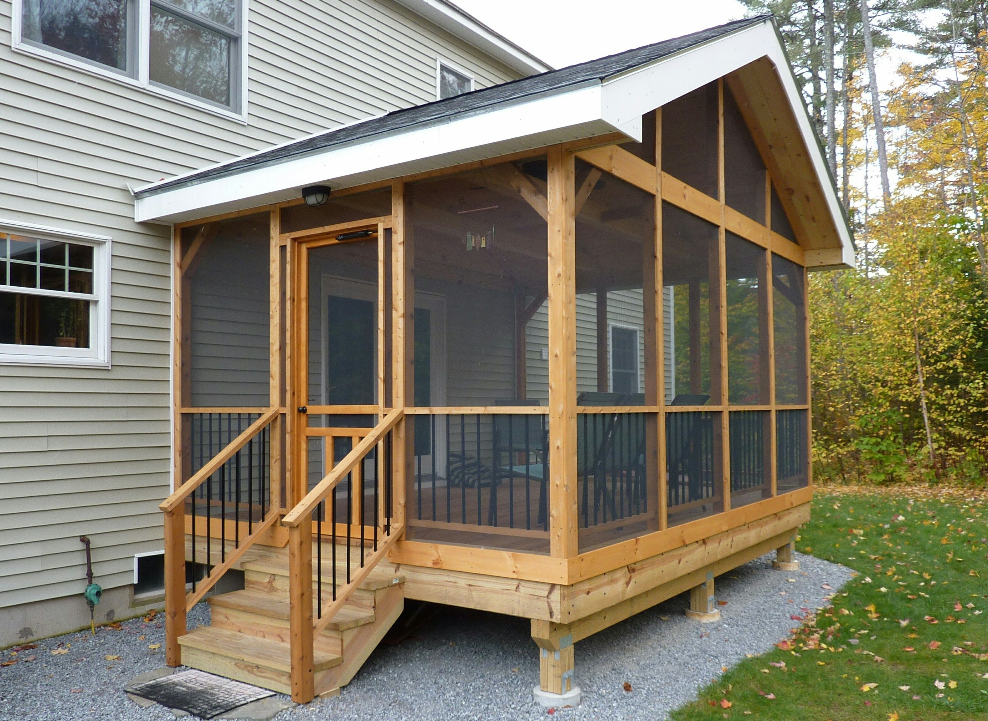 Best of diy screened in porch plans ds03q2 screened in