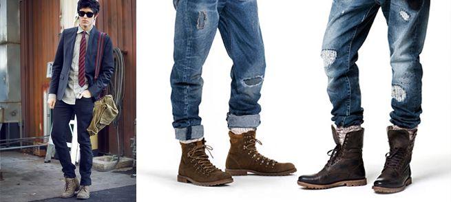 Pin de Herick Olea en IDEAS HOMBRE | Botas hombre, Moda botas ...