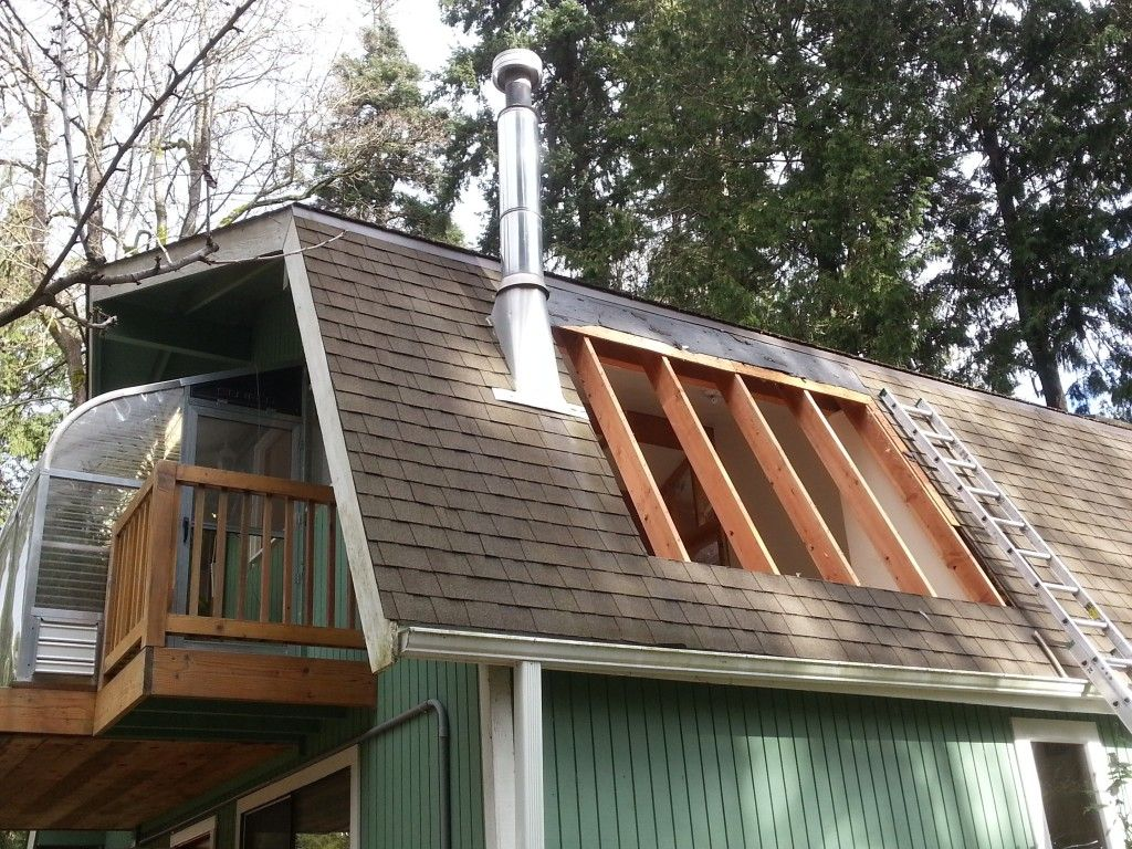Gambrel Roof thus, what is a gambrel? A saddleback roof