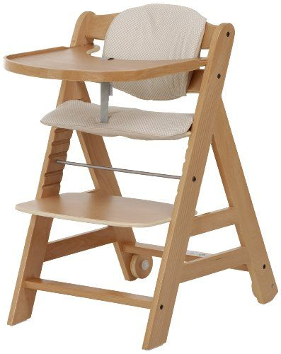 Hauck Beta High Chair Natural 6 Months And Up Hauck Http Www Amazon Com Dp B00ib7dr40 Ref Cm Sw R Pi Dp Cbeqtb1xz Best High Chairs Wooden High Chairs Chair