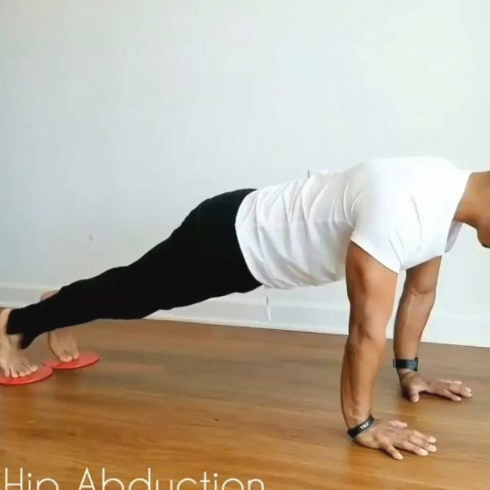 Exercise at home  Abs burn at home  Core burn at Basic workout for beginners for abs  Using core sli...