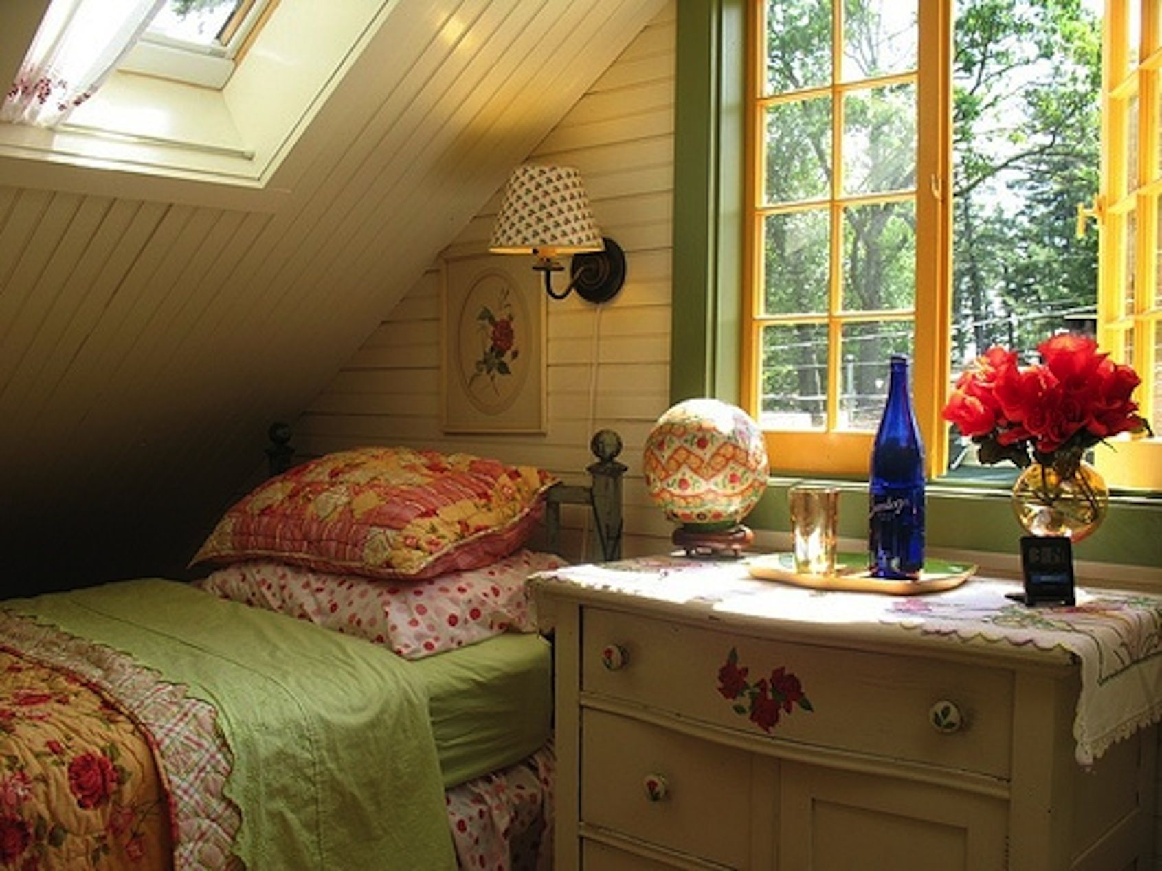 cozy and nice attic room don t you love attics pinterest