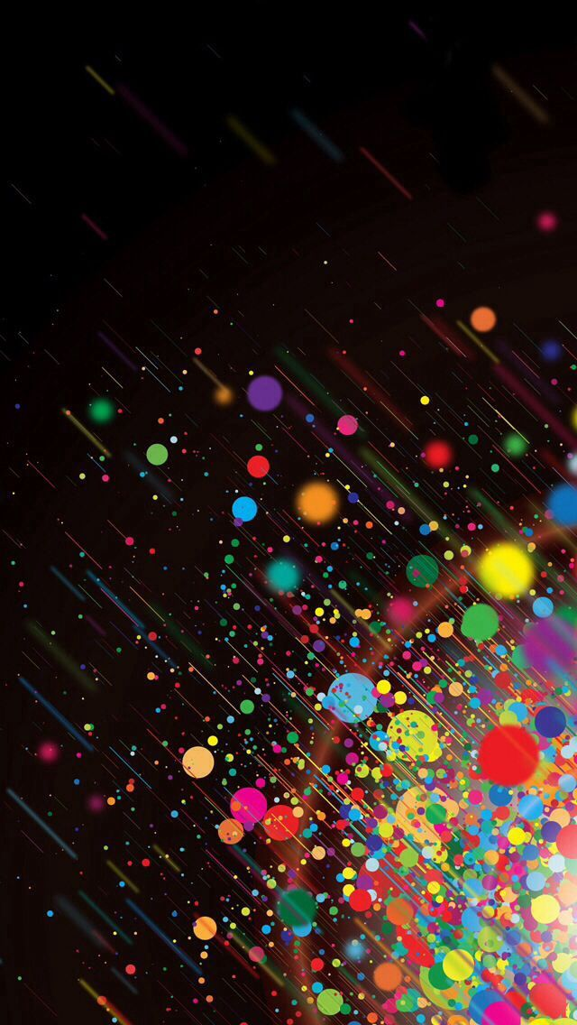 Paint Splatter Iphone Wallpaper Circle Artwork Painting