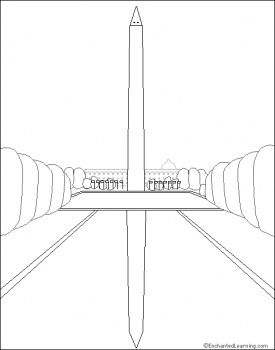 Washington Dc Coloring Pages Coloring Pages Foreign Language