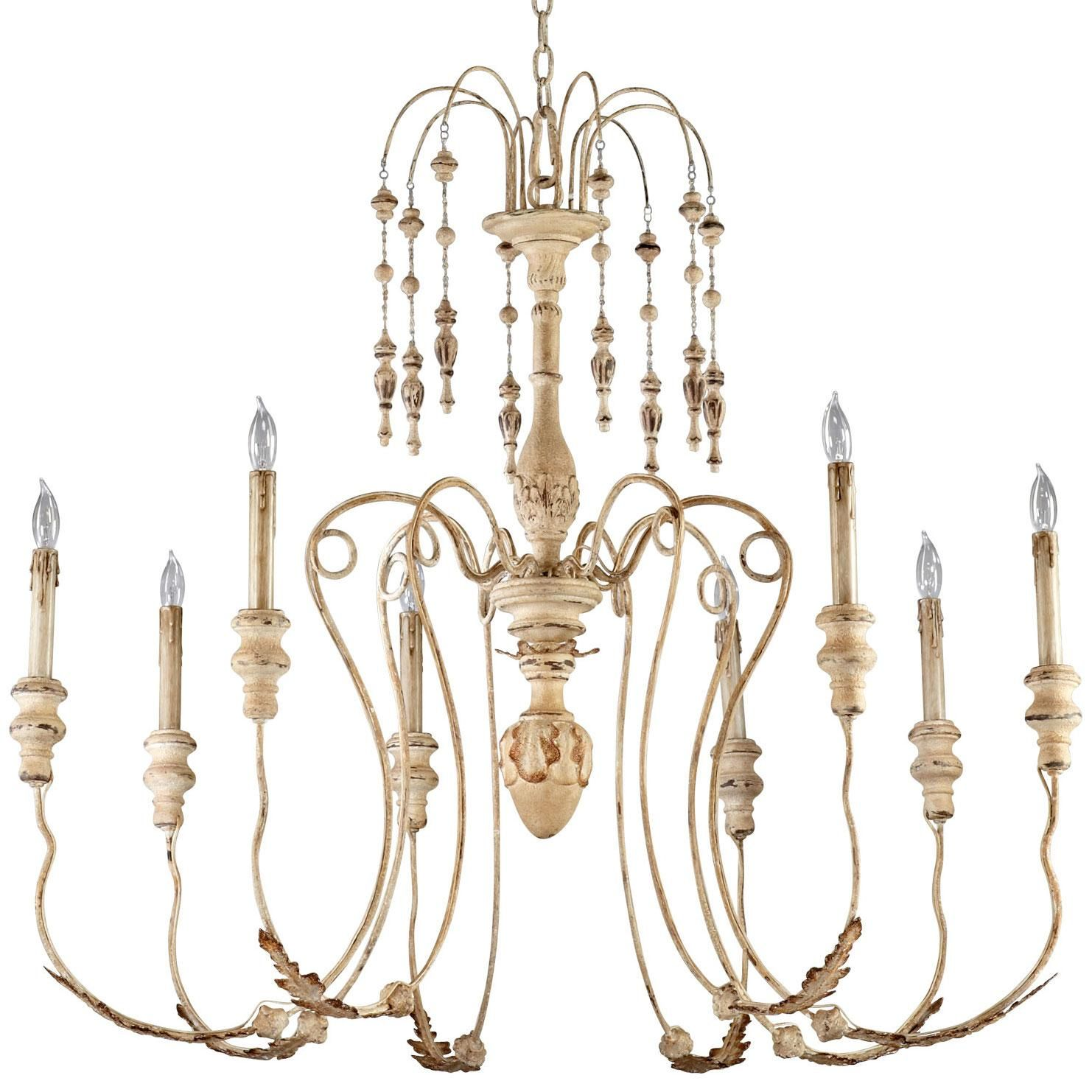Maison 8 light chandelier by Cyan Design 37 5hx41 d $737