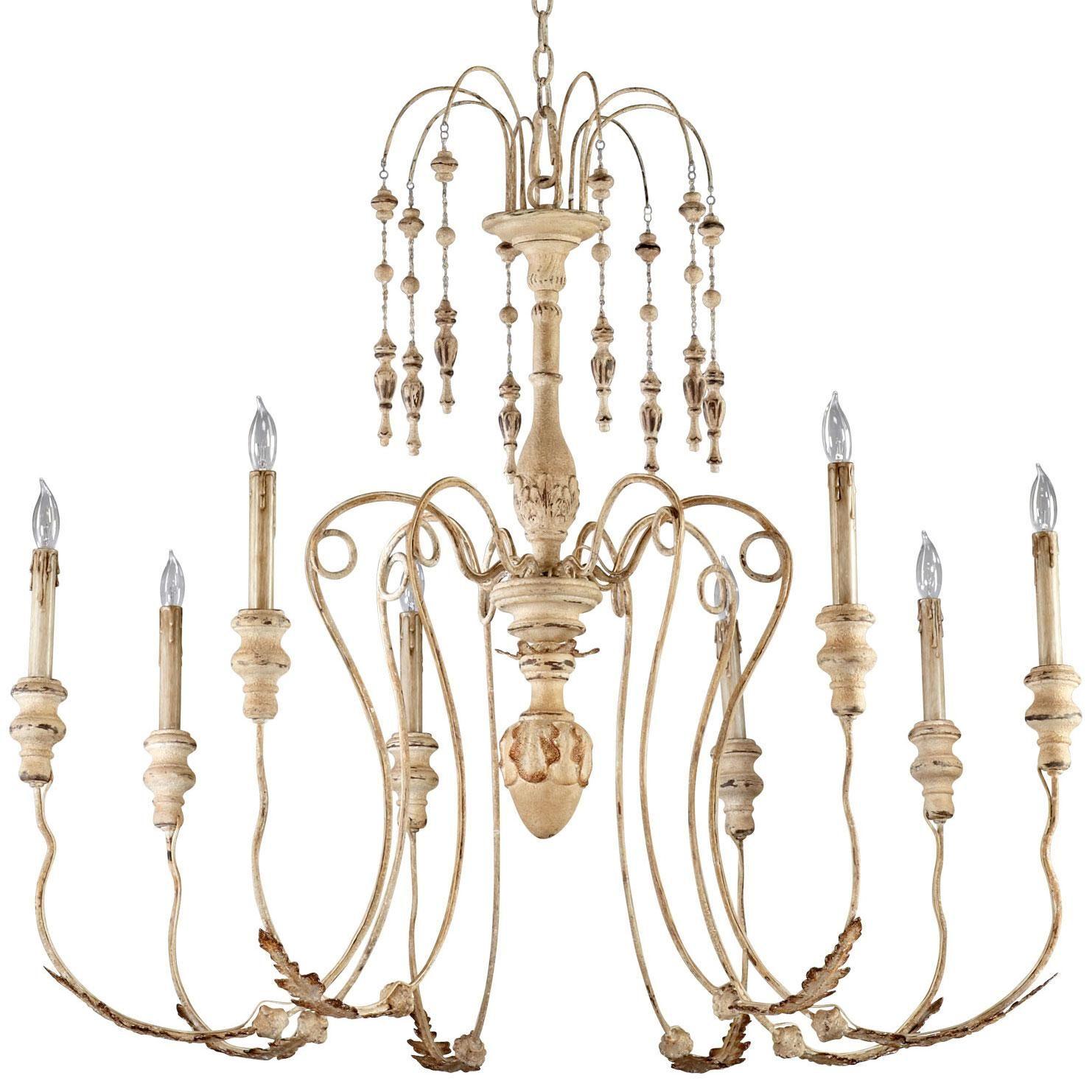 Maison 8 light chandelier by Cyan Design 37 5hx41 d $737